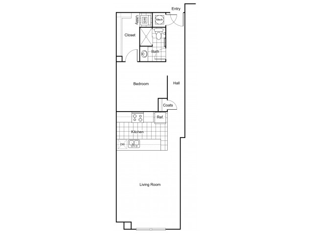 Layout 7 | Apartments In Wichita KS | The Douglas