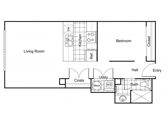 Layout 5 | Apartments In Wichita KS | The Douglas
