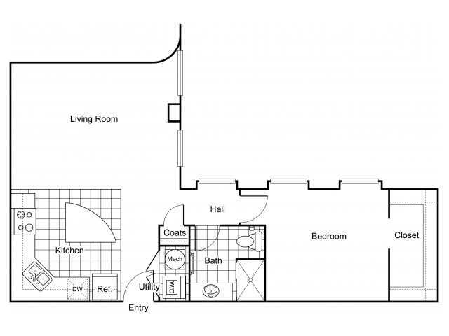 Layout 6 | Apartments In Wichita KS | The Douglas