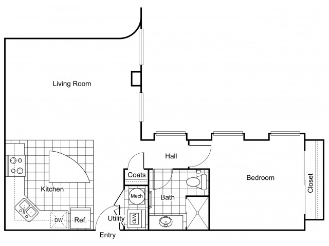 Layout 9 | Apartments In Wichita KS | The Douglas