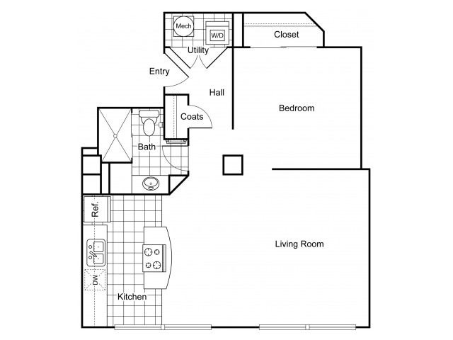 Layout 8 | Apartments In Wichita KS | The Douglas