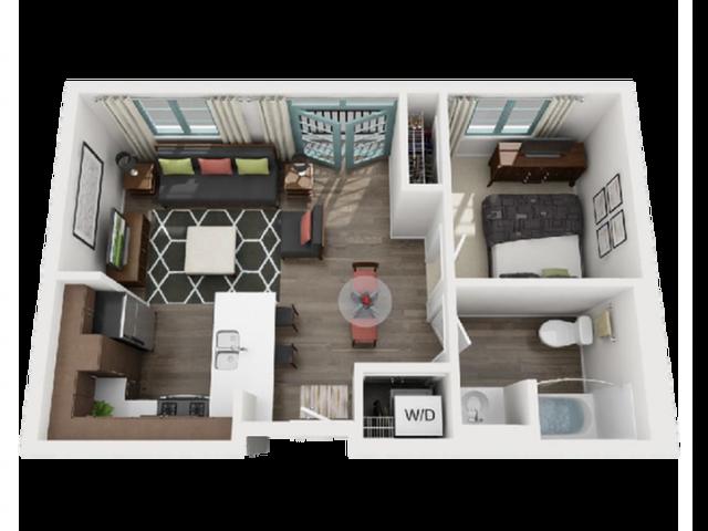 6Floor Plan | Luxe