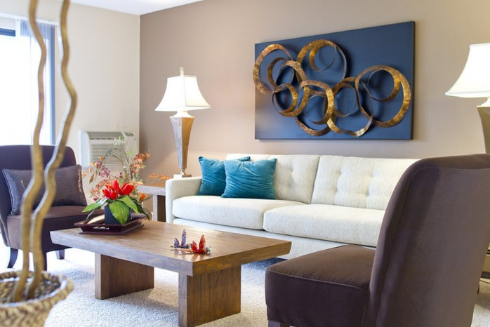 Spacious Living Room | Apartment In Denver | Summitt Ridge