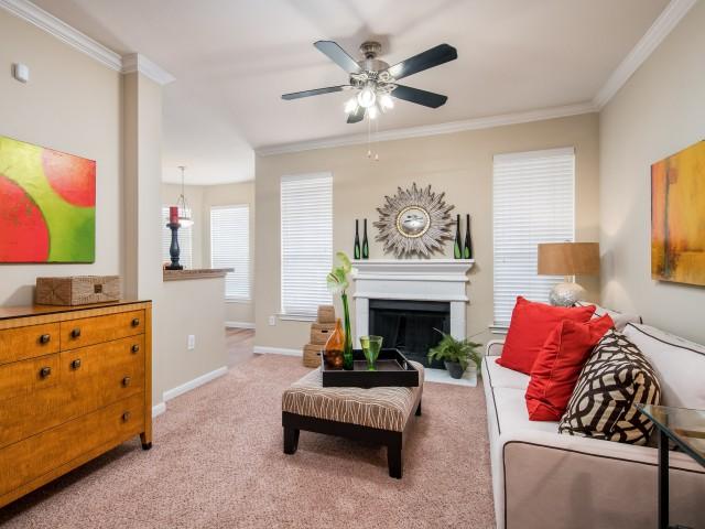Somerset At Spring Creek Living Room