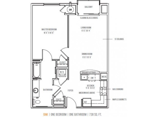 Floor Plan 1 | Lofts at Valley Forge
