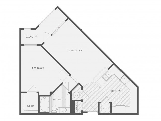Floor Plan 2 | Atlantic on the Avenue