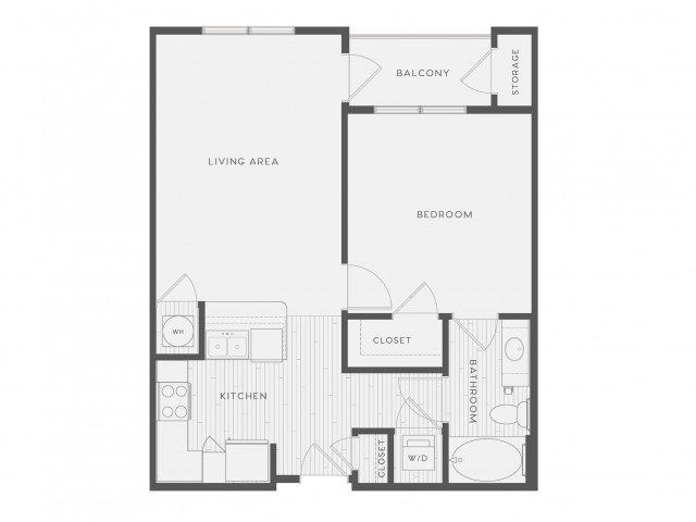 Floor Plan 3 | Atlantic on the Avenue