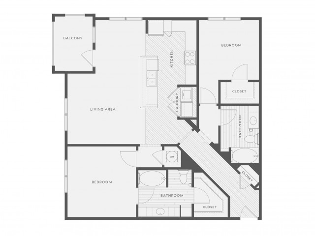 Floor Plan 5 | Atlantic on the Avenue