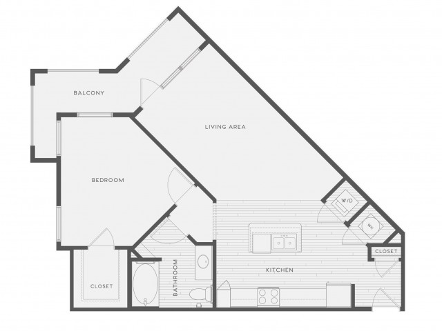 Floor Plan 7 | Atlantic on the Avenue