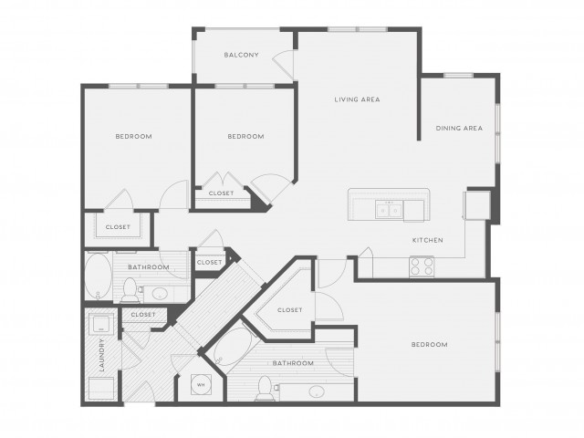 Floor Plan 10 | Atlantic on the Avenue