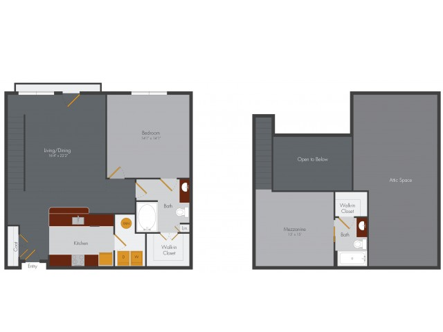 One Bedroom 7 | Pencil Factory Flats