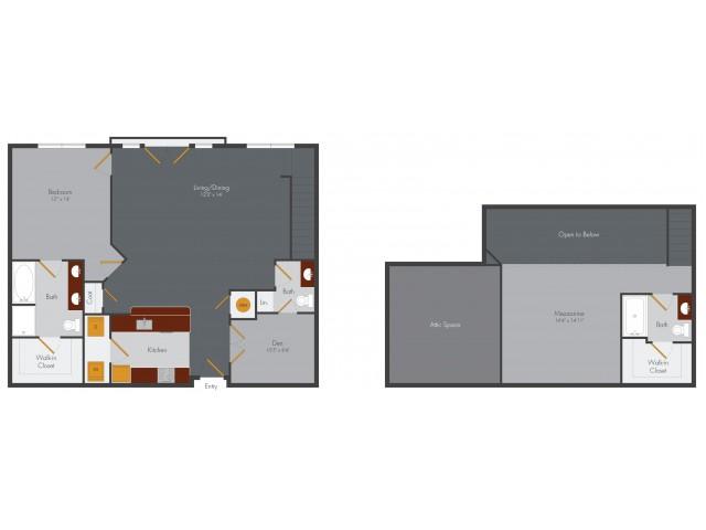 Two Bedroom 11 | Pencil Factory Flats