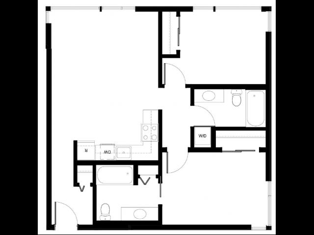 Floor Plan 2 | East Howe Steps