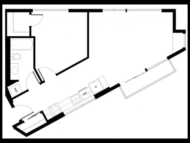 Floor Plan 6 | East Howe Steps