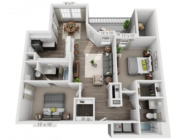 Floor Plan 1   Alara Hedges Creek