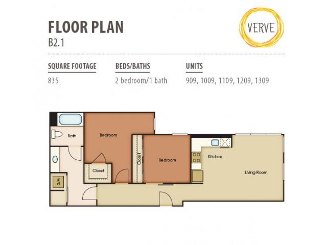 Floor Plan 3 | Verve