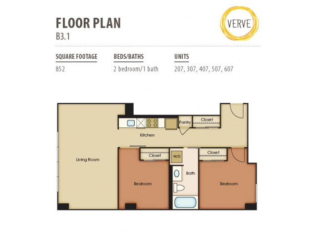 Floor Plan 4 | Verve