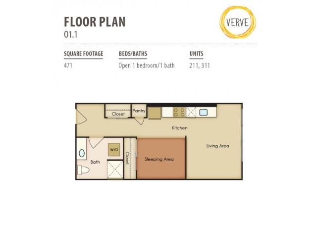 Floor Plan 8 | Verve