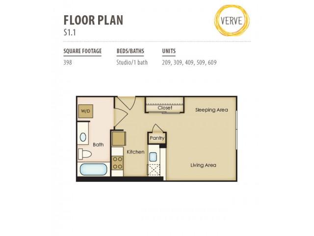 Floor Plan 13 | Verve