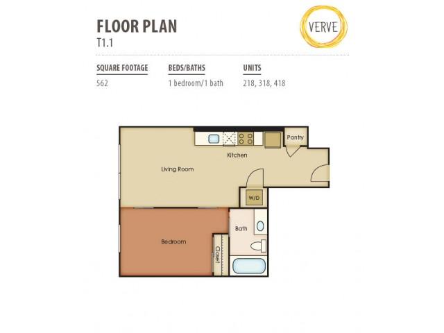 Floor Plan 18 | Verve