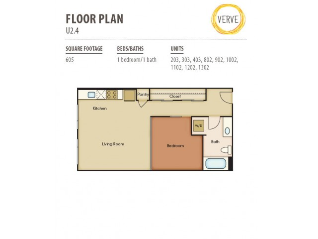 Floor Plan 23 | Verve