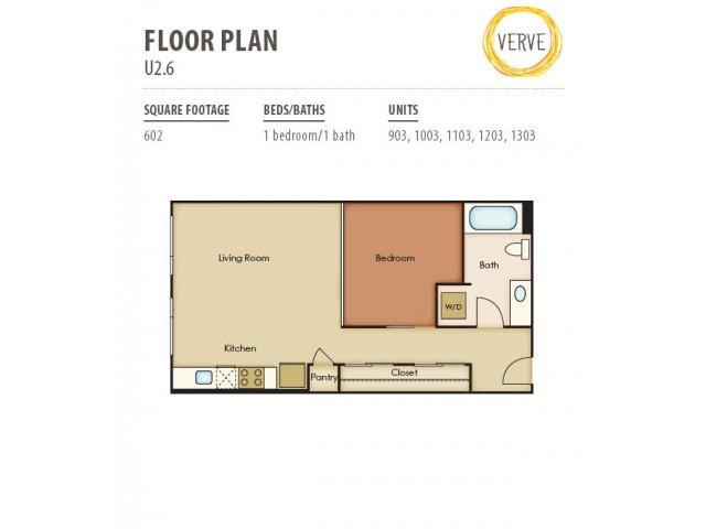 Floor Plan 25 | Verve