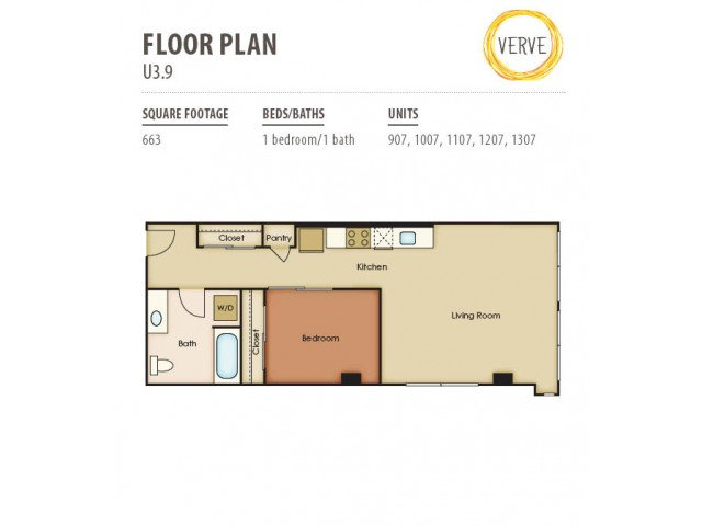 Floor Plan 34 | Verve