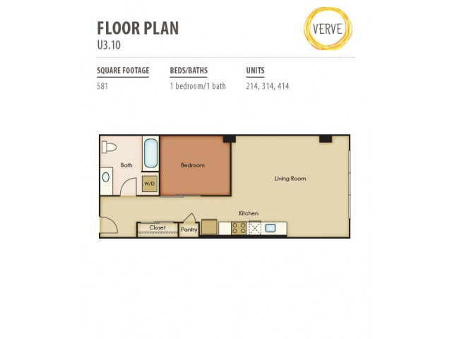 Floor Plan 35 | Verve