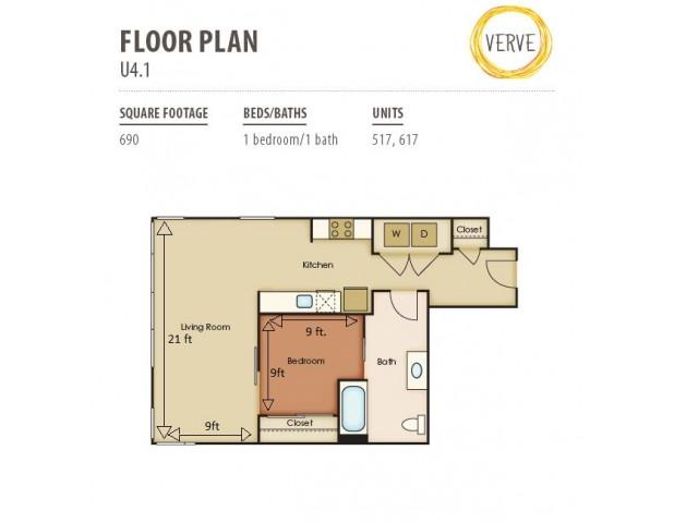Floor Plan 36 | Verve