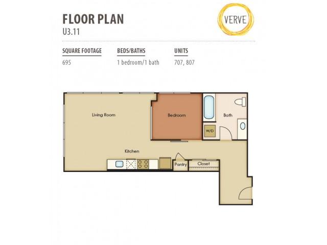 Floor Plan 46 | Verve