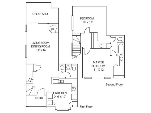 Diverse Floor Plans | Apartment In Indianapolis Indiana | Island Club