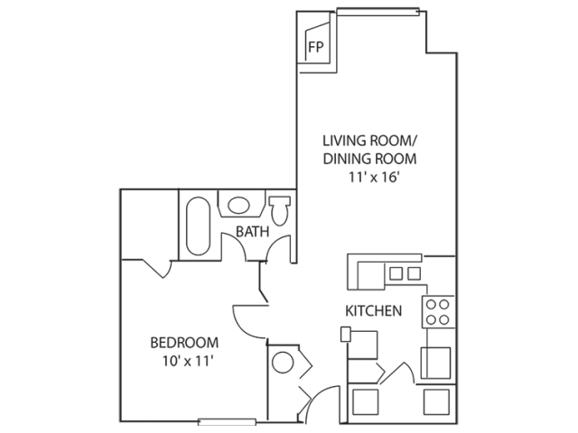 Spacious Floor Plans | Indianapolis Apartments For Rent | Island Club