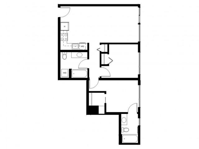 Floor Plan 26 | East Howe Steps