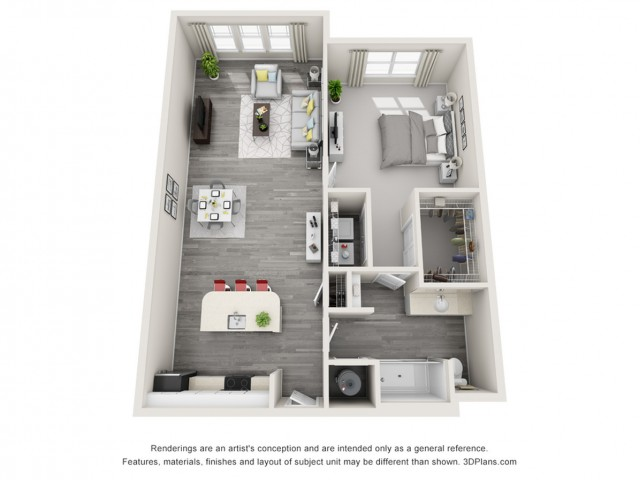 Floor Plan 1 | Eight at East