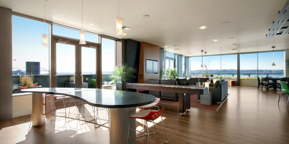 Perfect Seattle Luxury Apartments Downtown The Post Design Ideas