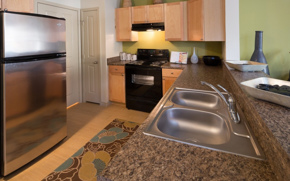 State-of-the-Art Kitchen | Apartment In Fort Worth Texas | The Greens of Fossil Lake
