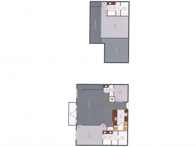 One Bedroom 11 | Pencil Factory Flats