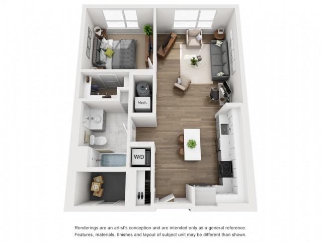 Floor Plan 4 | Somerville Apartment | Montaje