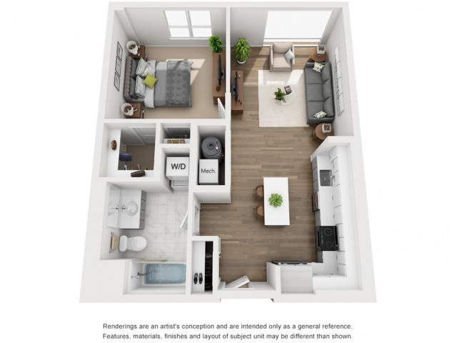 Floor Plan 5 | Apartment In Somerville MA | Montaje
