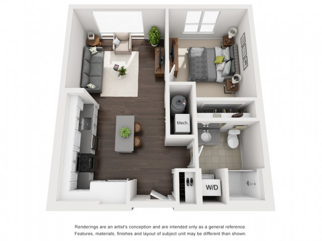 Floor Plan 7 | Apartment For Rent Somerville MA | Montaje