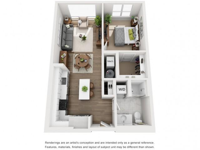 Floor Plan 9 | Somerville Apartment | Montaje