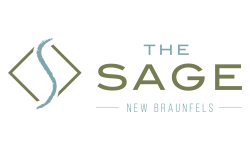 The Sage Logo   New Braunfels Apartments   The Sage