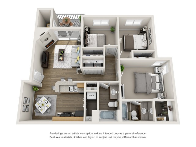 3 Bedroom | Apartments In Boise