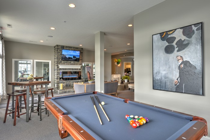 Resident Game Room | Apartments For Rent In Columbus OH | The Attleigh