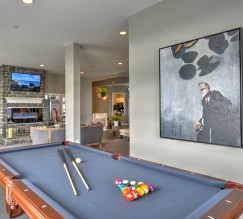 Community Game Room | Columbus OH Apartments For Rent | The Attleigh