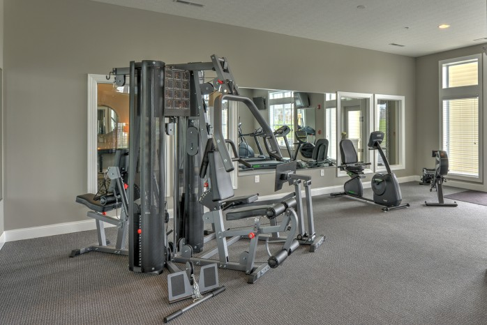 State-of-the-Art Fitness Center | Columbus Apartments | The Attleigh