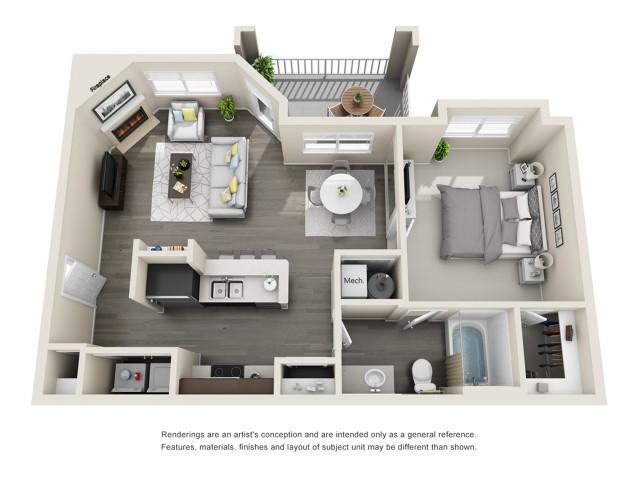 Floor Plan | Aspen Ridge