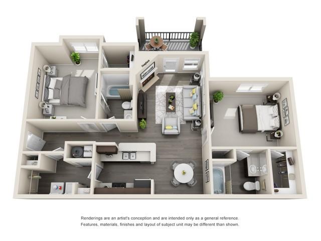 Floor Plan 2 | Aspen Ridge