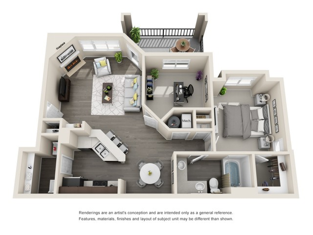 Floor Plan 1 | Aspen Ridge