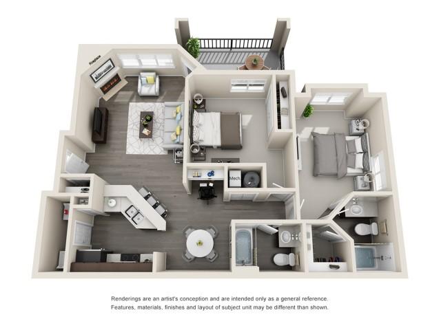Floor Plan 3 | Aspen Ridge